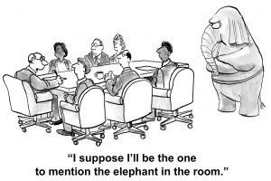 「The elephant in the room.」ビジネスでも使える、このイディオムの意味と使い方