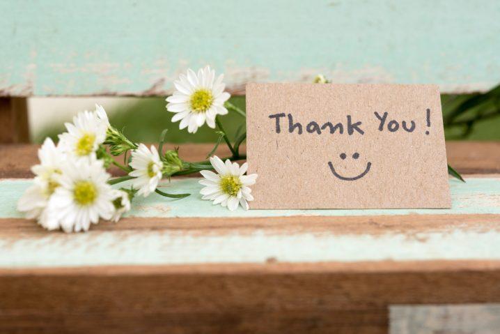 英会話で役に立つ!「感謝」の表現集