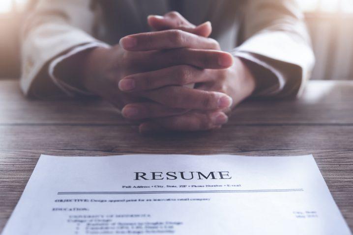 ビジネスの世界と英語ーその7.  面接と履歴書