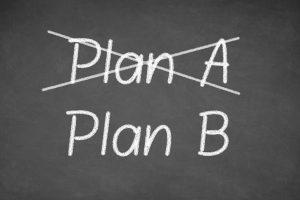 こんな状況だからこそ、plan Bで気持ちを切り替えよう!