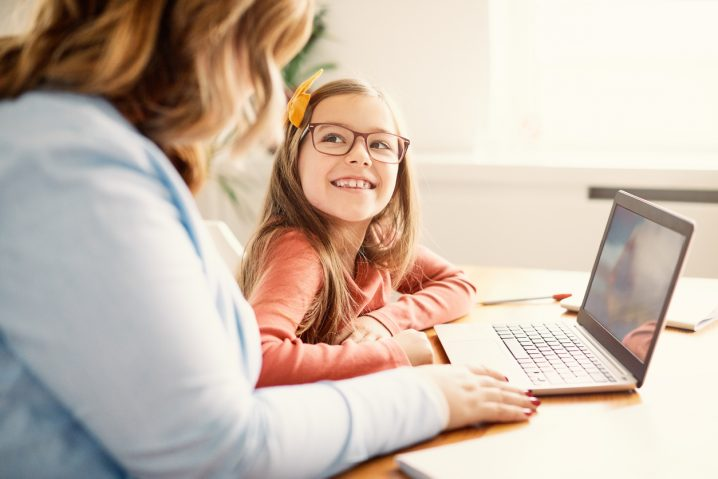 休校中の在宅学習 in Canada