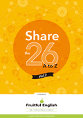 Share the 26 A to Z
